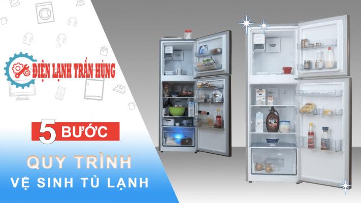 vệ sinh tủ lạnh đà nẵng