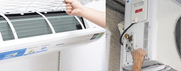 Hướng dẫn vệ sinh máy lạnh điện lạnh trần hùng chia sẽ 2